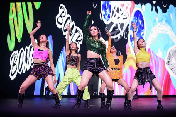 ITZY performs at Revention Music Center in Downtown Houston on Wednesday, January 22, 2020
