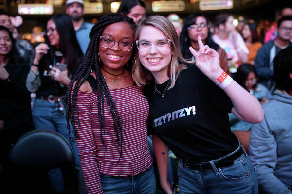 Fans at Revention Music Center to see ITZY perform in Downtown Houston on Wednesday, January 22, 2020