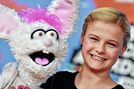 Teen ventriloquist Darci Lynne Farmer attends Nickelodeon's 2018 Kids' Choice Awards in March 2018 at The Forum in Inglewood, California. Darci Lynne will perform Saturday at the University of Illinois-Springfield's Sangamon Auditorium.