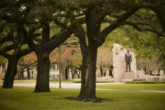 James Earl statue on the campus of the Texas A&M University on November 24, 2005 in College Station, Texas.