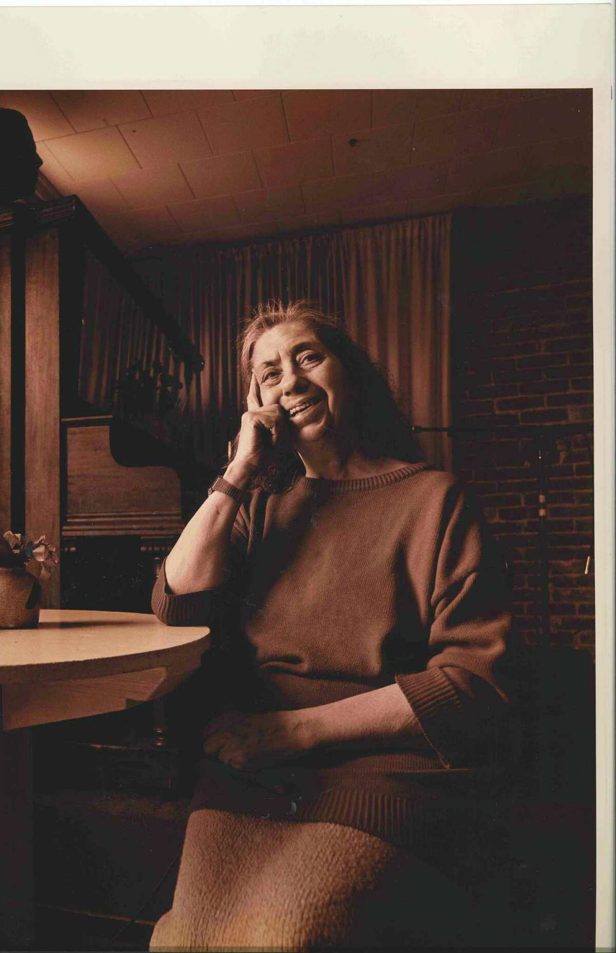 Lena Spencer, founder of Caffe Lena, is among the 2020 inductees of the Eddies Music Hall of Fame.