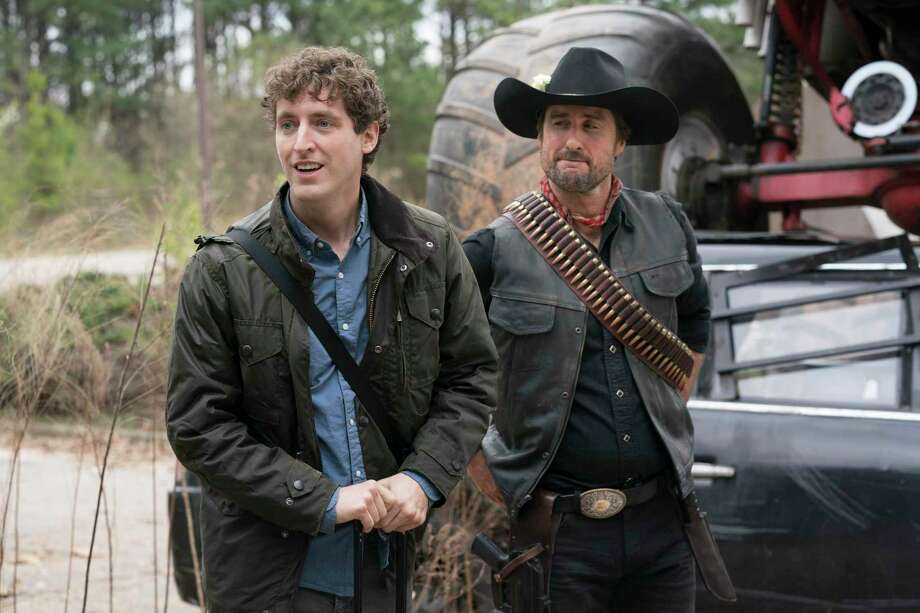 Flafstaff (Thomas Middleditch) and Albuquerque (Luke Wilson) in Zombieland: Double Tap. (Jessica Miglio/Sony Pictures/TNS) Photo: Jessica Miglio, HO / TNS / Sony Pictures