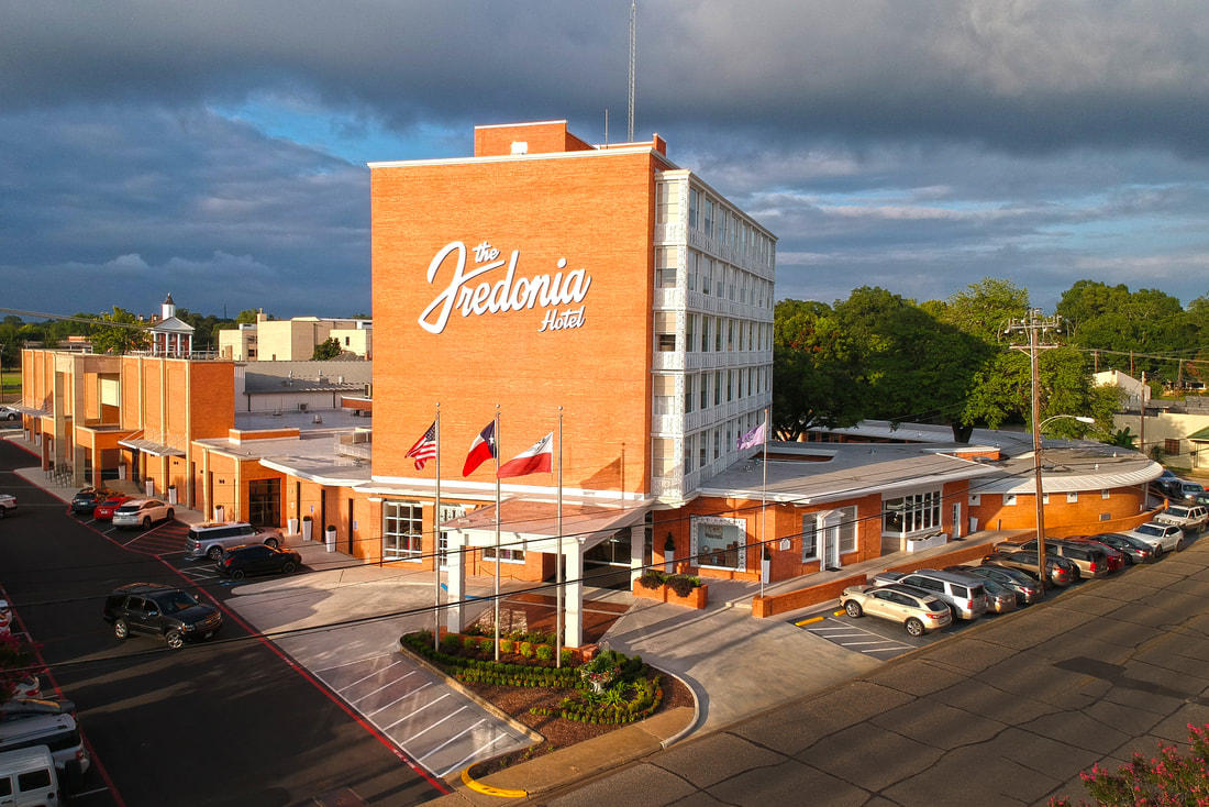 Austin is known for cool hotels, but Nacogdoches' Fredonia Hotel is a hidden gem