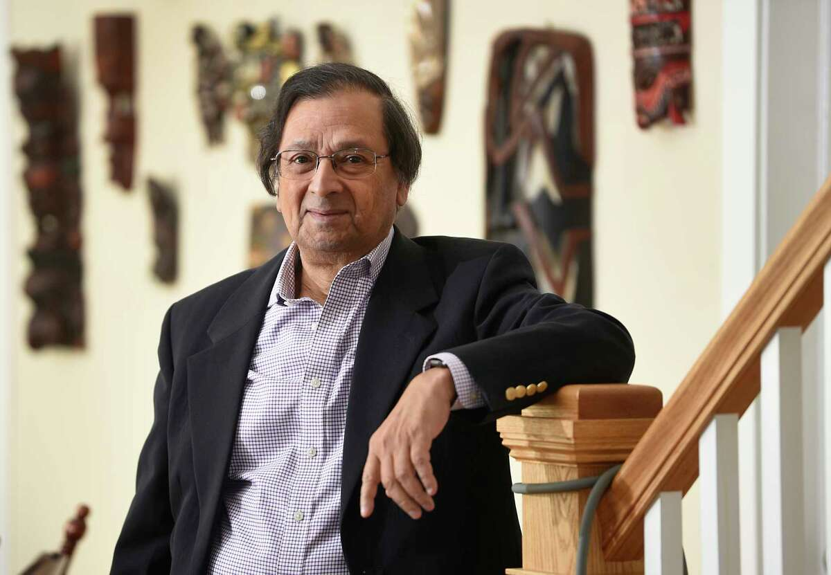 Attorney Clarence Sundram immigrated to Upstate New York from India in 1966 with his six siblings. A family like his may no longer be able to afford to immigrate to the U.S. if a proposed Department of Homeland Security rule to increase immigrant visa application fees by 21% passes. Now a lawyer living in Delmar, N.Y., Sundram and others created an immigration assistance fund to help individuals keep up with rising costs. (Lori Van Buren/Times Union) . (Lori Van Buren/Times Union)