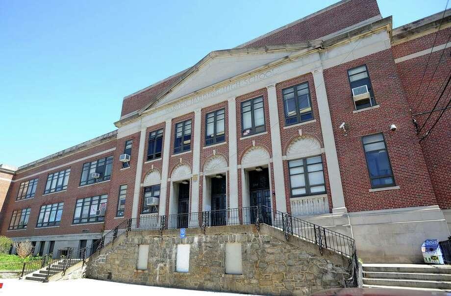 Harding High School at 1734 Central Avenue in Bridgeport, CT 06610 Photo: Cathy Zuraw / Cathy Zuraw / Connecticut Post