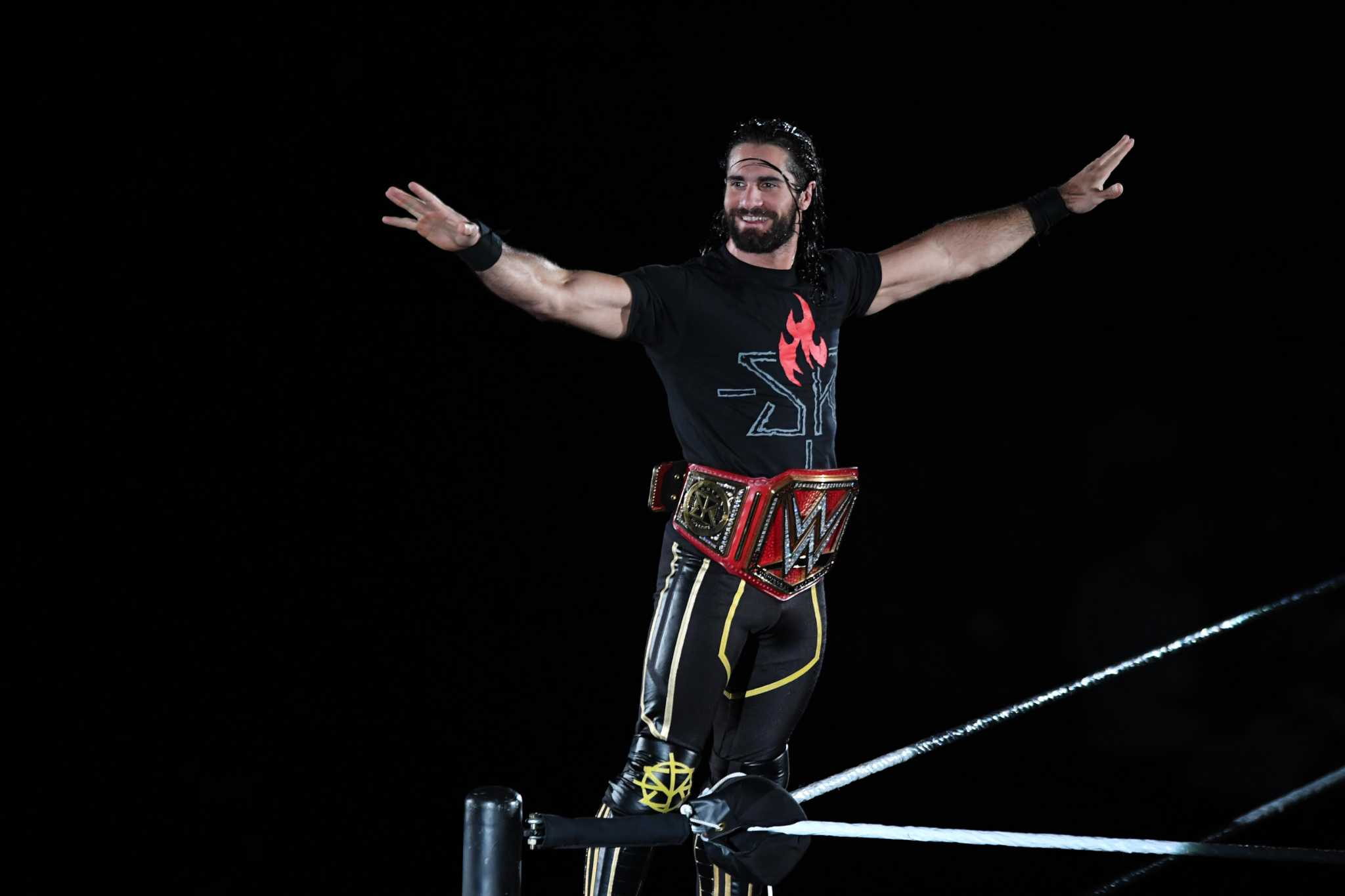 WWE's Seth Rollins on being the villain, the Royal Rumble, CM Punk and why he wears one glove now