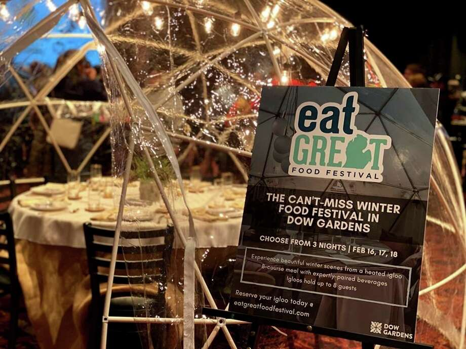 Eat Great Food Festival is back for a winter dining experience at Dow Gardens, as an eight-course meal that will showcase regional culinary talent. (Facebook photo)