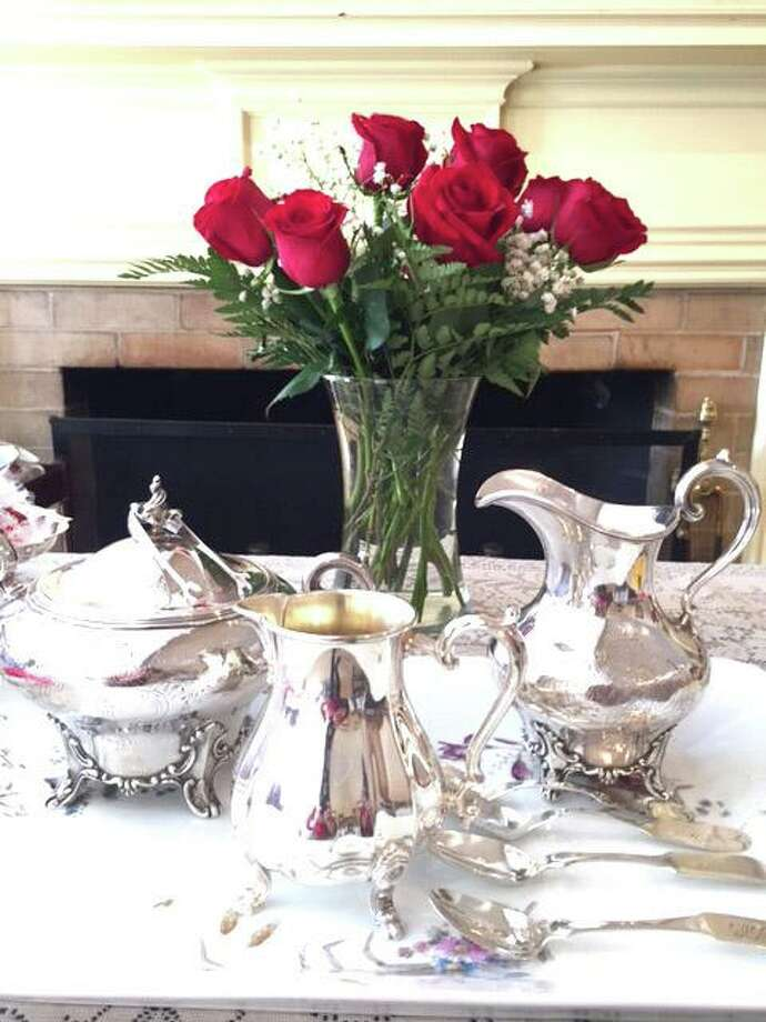 The New Canaan Museum and Historical Society's annual Valentine's Tea was held on Friday, February 14, 2020, at 1 p.m. Photo: Contributed Photo