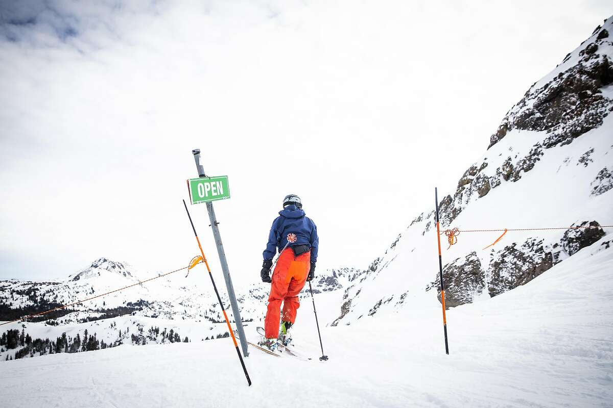 Amador0202_049.jpg Skiing at Kirkwood Mountain Resort in Kirkwood, California, January 17, 2020. By MAX WHITTAKER/SPECIAL TO THE CHRONICLE