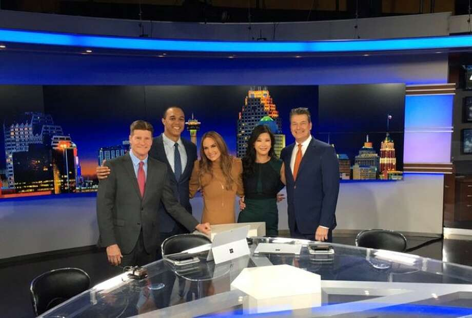 Sharon Ko (second from the right) is the new co-anchor of Eyewitness News at 6 p.m. Photo: Sharon Ko