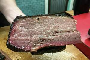 2M Smokehouse is in the process of switching from prime brisket to Akaushi brisket, a premium meat sourced from a Japanese breed of cow.