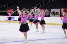 Tessa Kowal's team competes in the Eastern Synchronized Skating Sectional Championships.