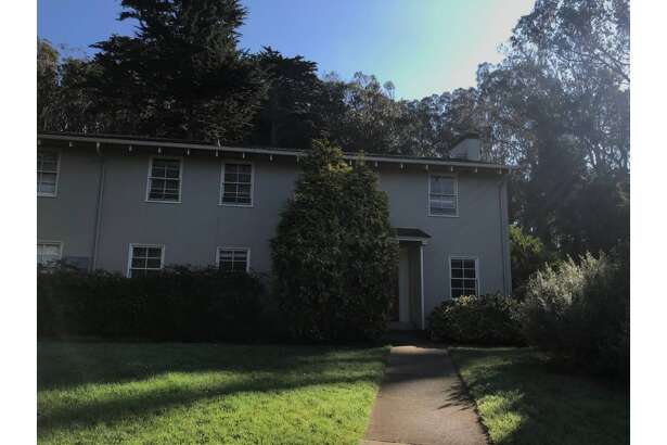 A bedroom in a Presidio home is for rent.