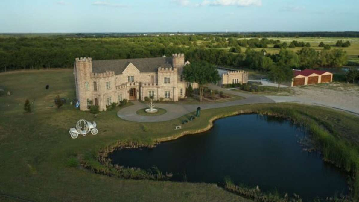 ShangriLlama Castle is nestled in the countryside near Royse City, about 40 minutes northeast of Dallas. Housed in a replica of Waterford Castle in Ireland, the estate offers plenty of land for llamas to frolick.