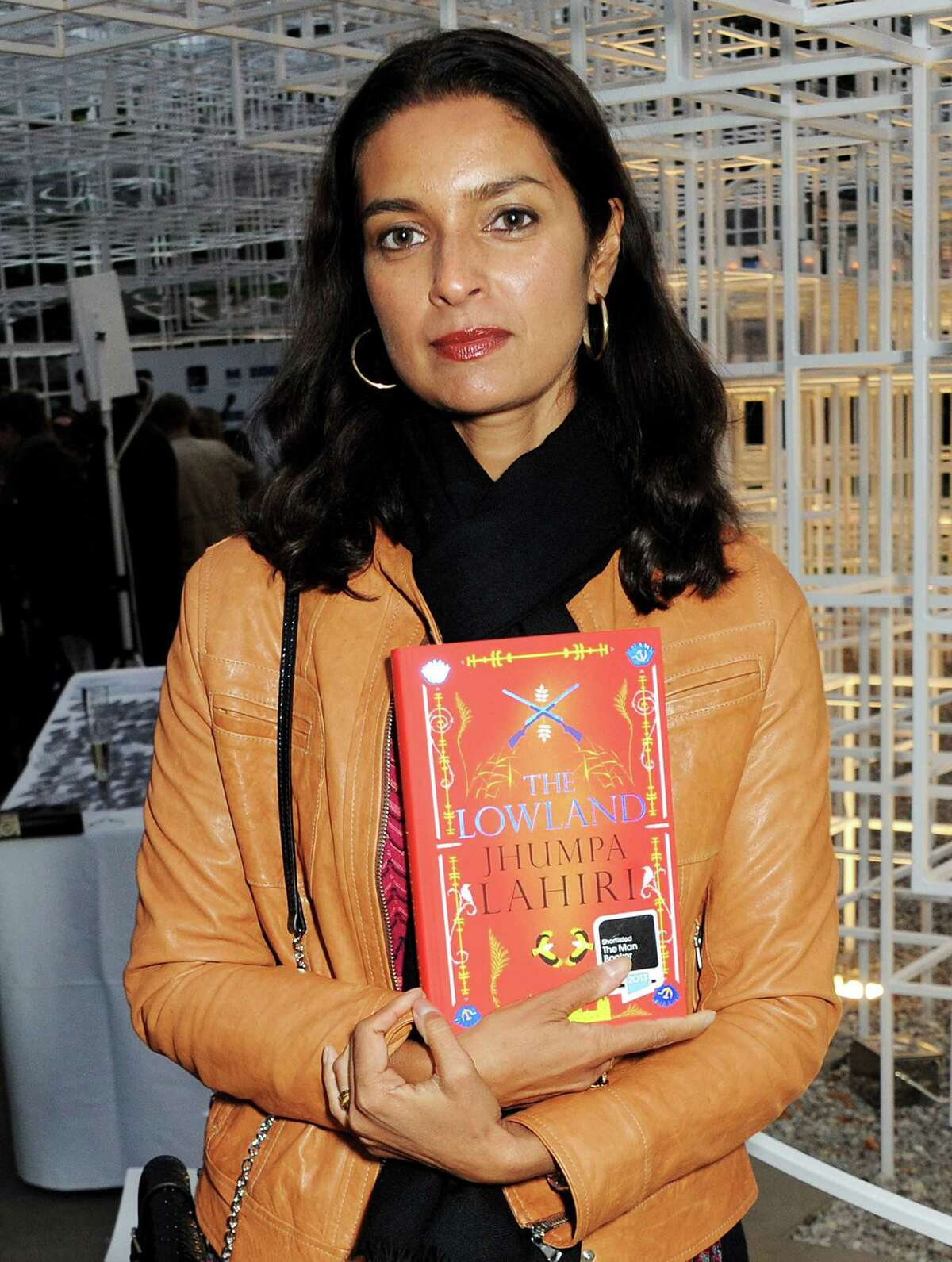 Jhumpa Lahiri attends the Man Booker Prize shortlist announcement at The Serpentine Gallery Pavilion on September 10, 2013 in London, England. (Photo by David M. Benett/Getty Images)