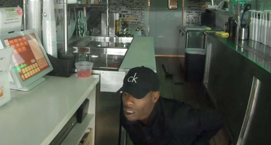 Tapioca Xpress-Katy reported a break-in to the Harris County Sheriff's Office on Jan. 21. A security camera captured this image of the intruder. Photo: Tapioca Xpress-Katy