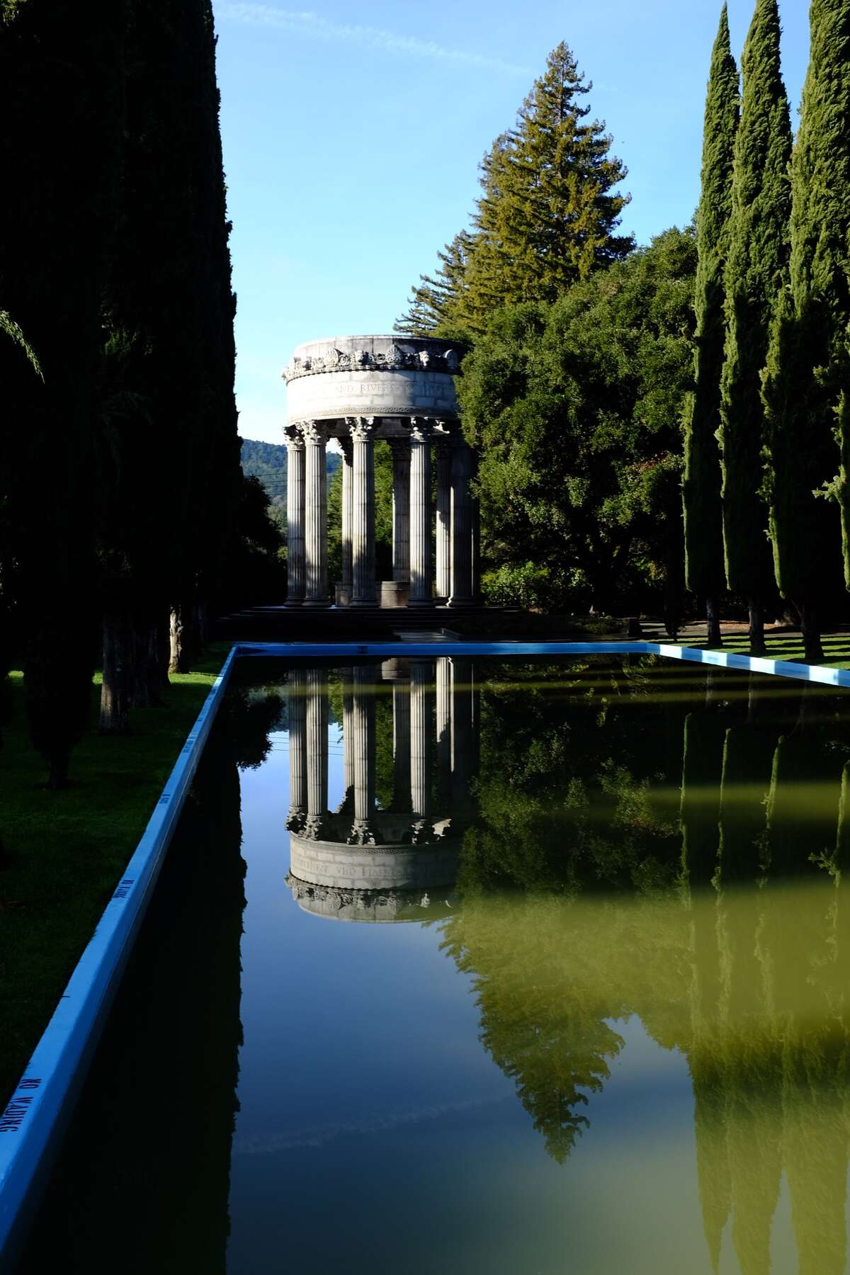 The classically inspired Pulgas Water Temple pays homage to one of the great engineering feats in California history: bringing Hetch Hetchy water to San Francisco.