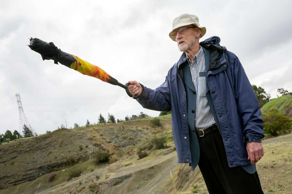 Sherman Lewis at a potential housing development site off Overlook Avenue near Carlos Bee Boulevard, Wednesday, Jan. 22, 2020, in Hayward, Calif.