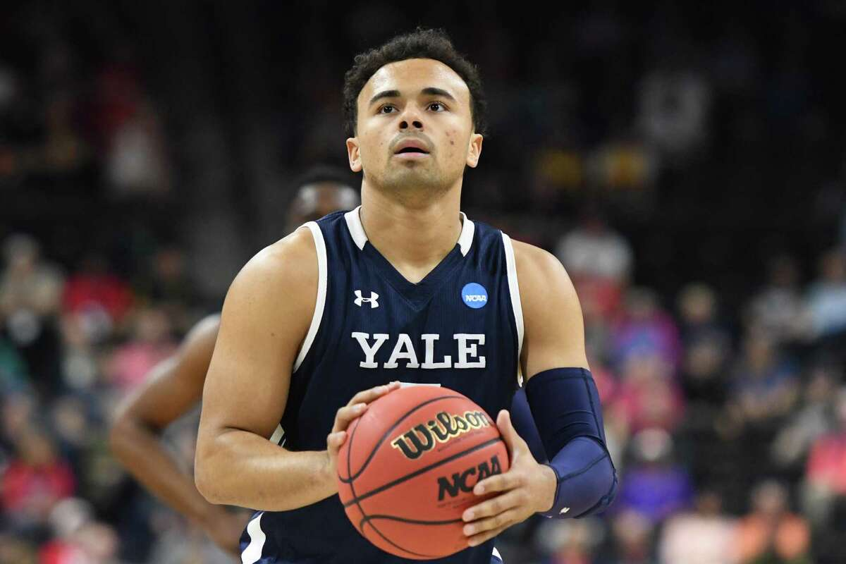 Yale's Azar Swain has attempted 139 3-pointers and has connected on 33.1 percent of them.