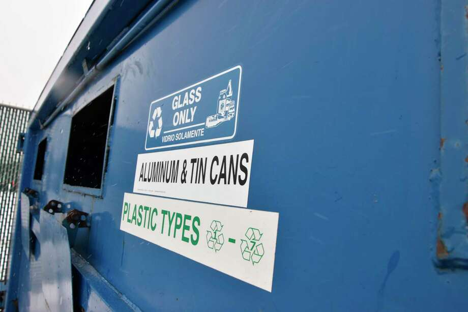 Manistee city residents will still have a bin for plastic and metal recyclables at the new location at Manistee Catholic Central Schools. (Arielle Breen News Advocate)