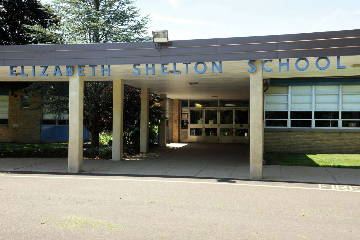 File phot of the Elizabeth Shelton School, in Shelton, Conn. Taken on Aug. 9, 2010.