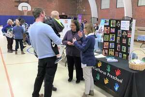 The Family Resource expo that was presented by Cromwell Youth Services in concert with the Edna C. Stevens elementary school.
