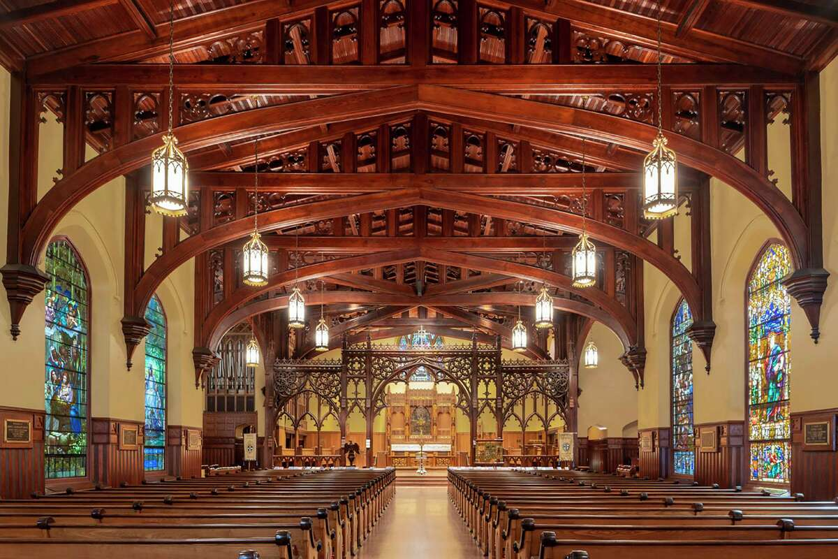 Christ Church Cathedralhas won a 2020 Good Brick Award from Preservation Houston for restoring its historic sanctuary (1893) in downtown Houston.
