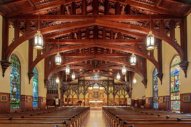 Christ Church Cathedral has won a 2020 Good Brick Award from Preservation Houston for restoring its historic sanctuary (1893) in downtown Houston.