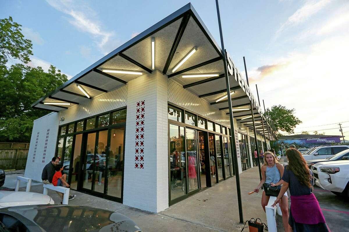 Radom Capital LLC won its 2020 Good Brick Award for rehabilitating a midcentury modern retail center (1955) in Houston Heights.