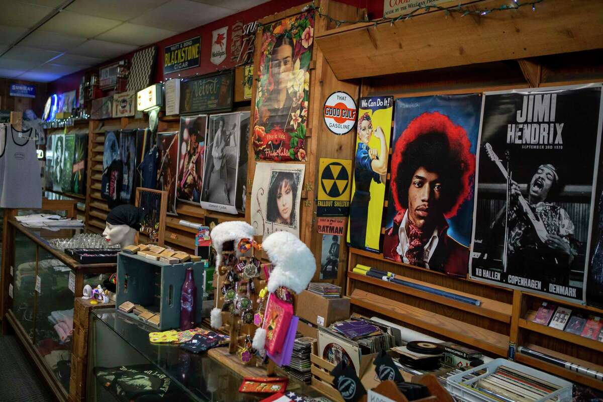 Flip Side Record Parlor has been open since 1972, but has an uncertain future following the recent death of its owner Clarisa Peña.