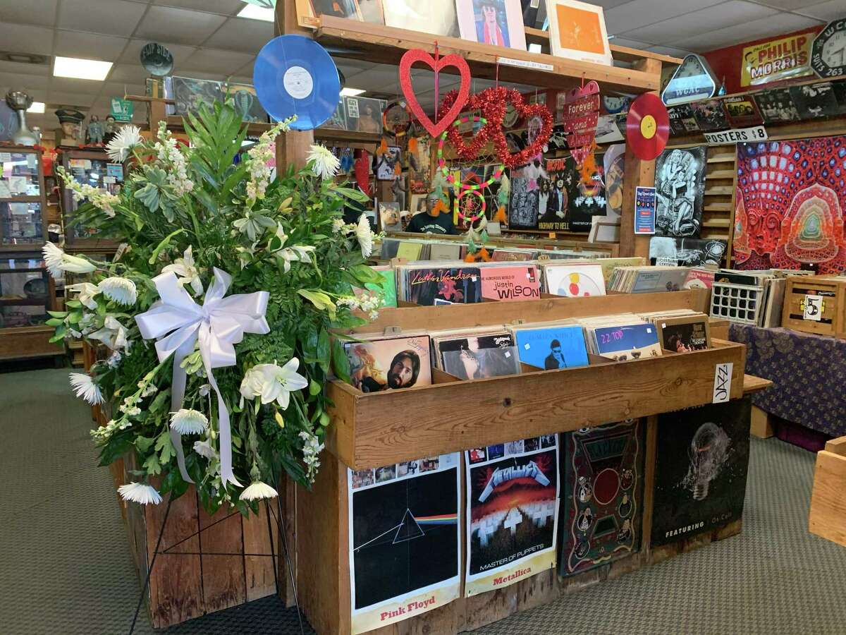Flip Side Record Parlor has been a San Antonio fixture for nearly 50 years. Now it faces an uncertain future following the recent death of its owner and longtime employee, Clarisa Peña.