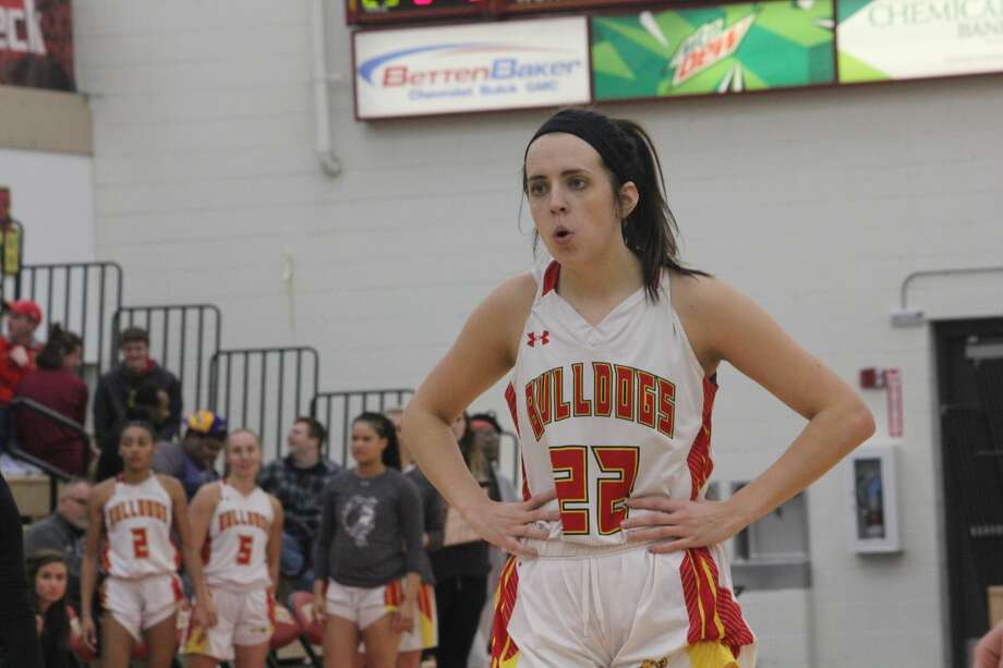 Ferris State's women's basketball team is in first place after Thursday's 78-53 GLIAC win over Wisconsin-Parkside. Photo: John Raffel