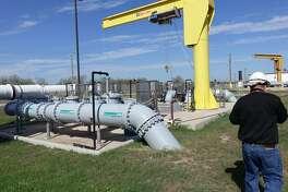 Una proyecto de expansión en la Planta de Tratamiento de Aguas Residuales en el sur de Laredo fue celebrado con un corte de listón por funcionarios municipales, el jueves 23 de enero de 2020.