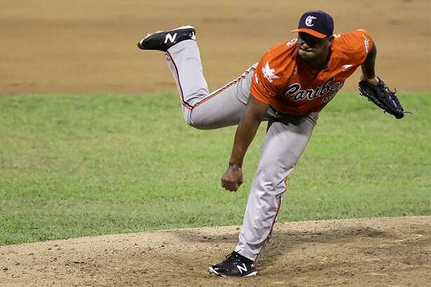 Lester Oliveros made 27 appearances across three seasons in the MLB with the Tigers and Twins.