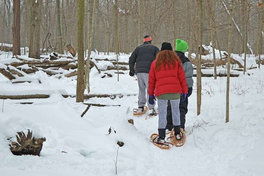 Sunday, Jan. 26: Snowshoe Sampler is set for 2 to 4 p.m. at Chippewa Nature Center, 400 S. Badour Road in Midland. (Photo provided/Chippewa Nature Center)