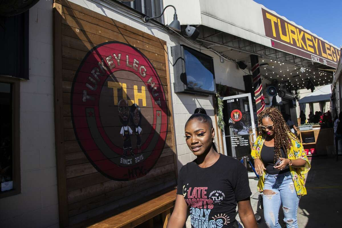 Turkey Leg Hut is a black-owned restaurant at the Third Ward on Friday, Dec. 6, 2019, in Houston.