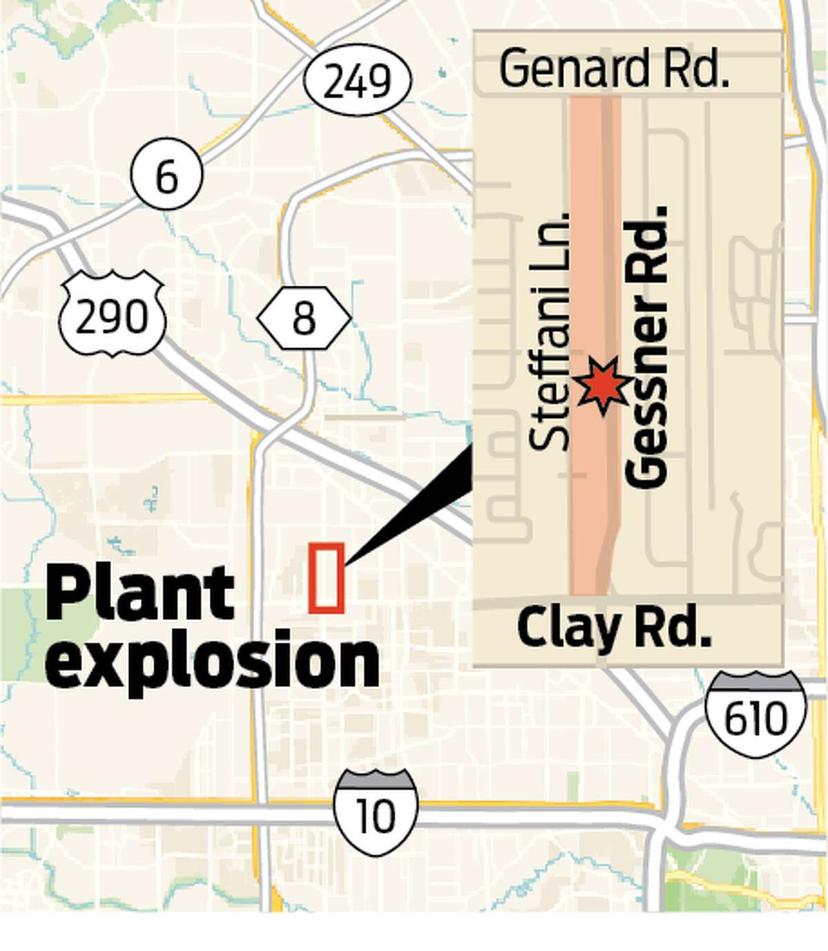 Houston authorities have identified that the explosion that rocked west Houston Friday morning occurred at Watson Grinding and Manufacturing, located at 4525 Gessner Rd. According to the company's website, the company provides provided machining, grinding, lapping & thermal spray coatings to customers. It claims to specializes in the turning and milling of exotic alloys, hard metals and large parts.