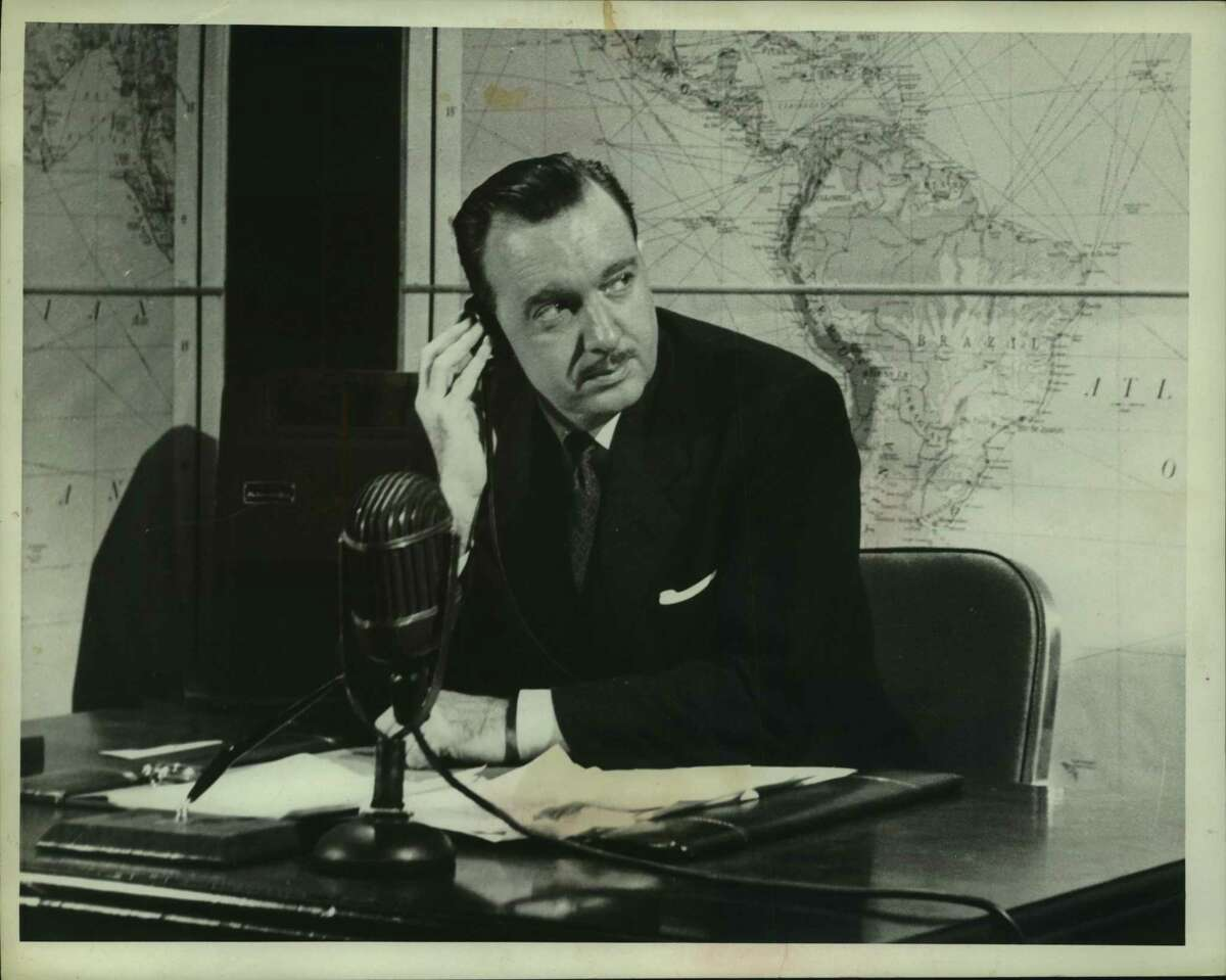 News reporter Walter Cronkite at his desk in an undated file photo. Rather than receive their news from one of a few trusted sources, Americans today see news constantly and from an ever-widening variety of sources of variable trustworthiness.