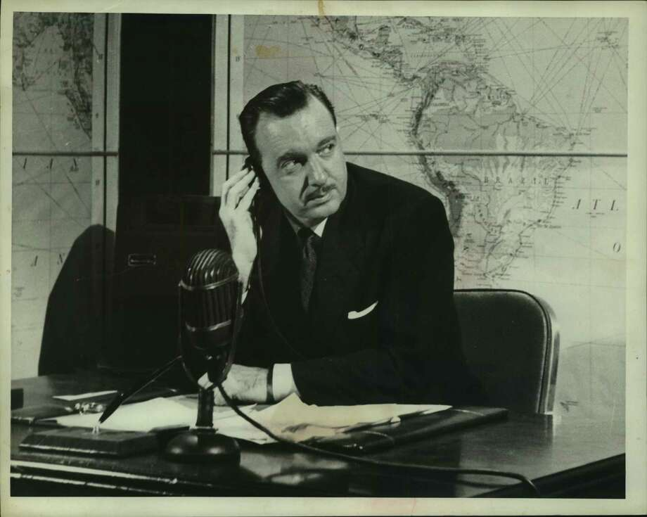 News reporter Walter Cronkite at his desk in an undated file photo. Rather than receive their news from one of a few trusted sources, Americans today see news constantly and from an ever-widening variety of sources of variable trustworthiness. Photo: File Photo / Houston Chronicle