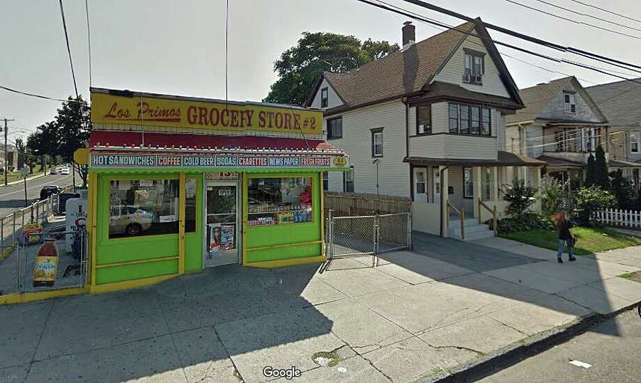 Bonita Robinson Fuller won $100,000 playing Keno at Los Primos grocery store at 64 Roosevelt Ave. in Bridgeport. Photo: Google Street View Image