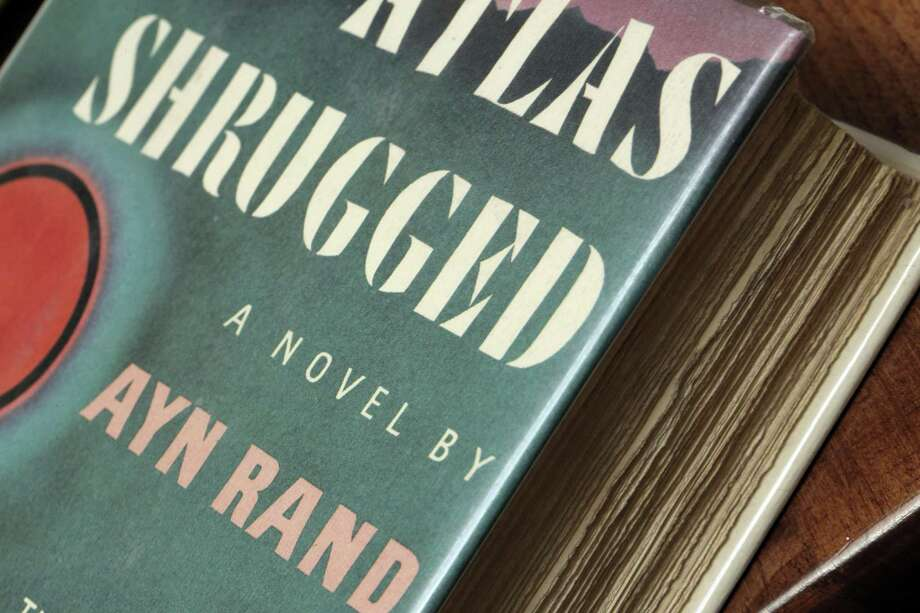 "A first-edition copy of ""Atlas Shrugged"" by Ayn Rand. The book is a reminder of the virtues of capitalism in America and should be read today. Photo: Carlos Avila Gonzalez /The Chronicle / San Francisco Chronicle/Carlos Avila Gonzalez"