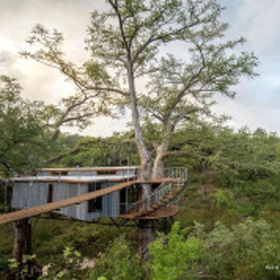 Romantic Treehouse: Spicewood
