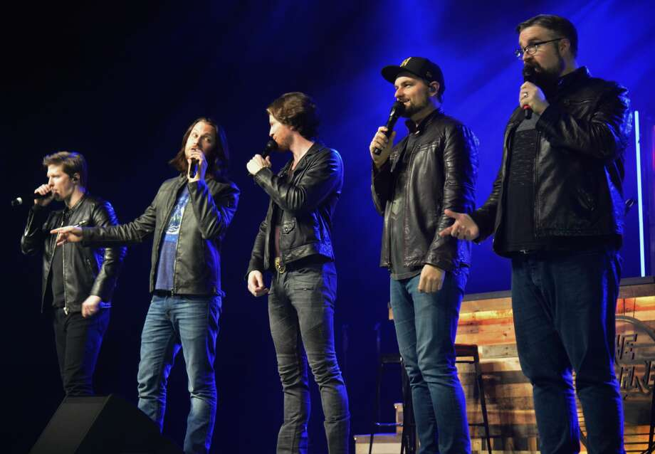Nederland native Tim Foust and his Home Free bandmates performed Thursday night the Nederland Performing Arts Center. Earlier this week Foust was inducted in the Museum of the Gulf Coast's Music Hall of Fame. Photo: John Fulbright