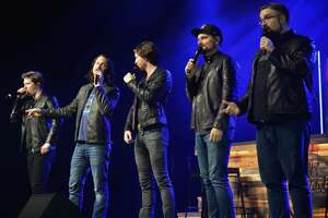 Nederland native Tim Foust and his Home Free bandmates performed Thursday night the Nederland Performing Arts Center. Earlier this week Foust was inducted in the Museum of the Gulf Coast's Music Hall of Fame.