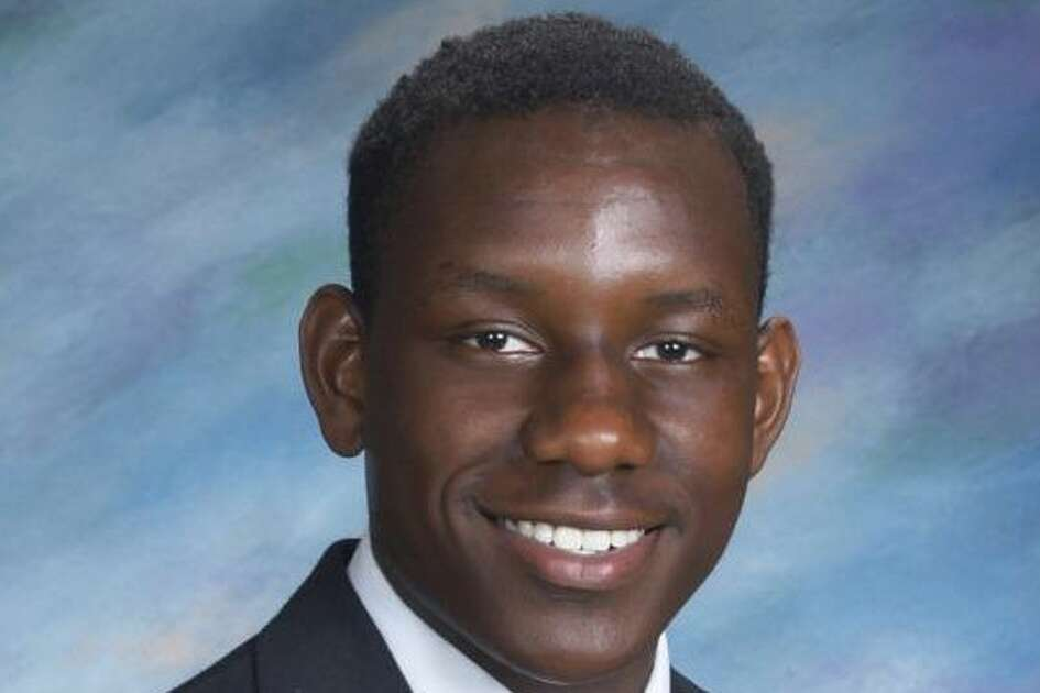 Mubarak Soulemane's class picture from Notre Dame High School, Fairfield