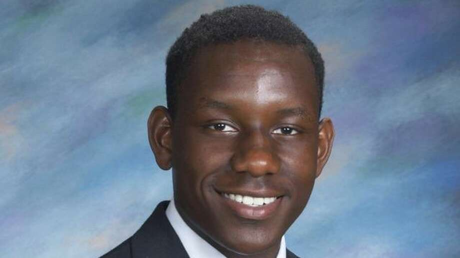 Mubarak Soulemane's class picture from Notre Dame High School, Fairfield Photo: Contributed