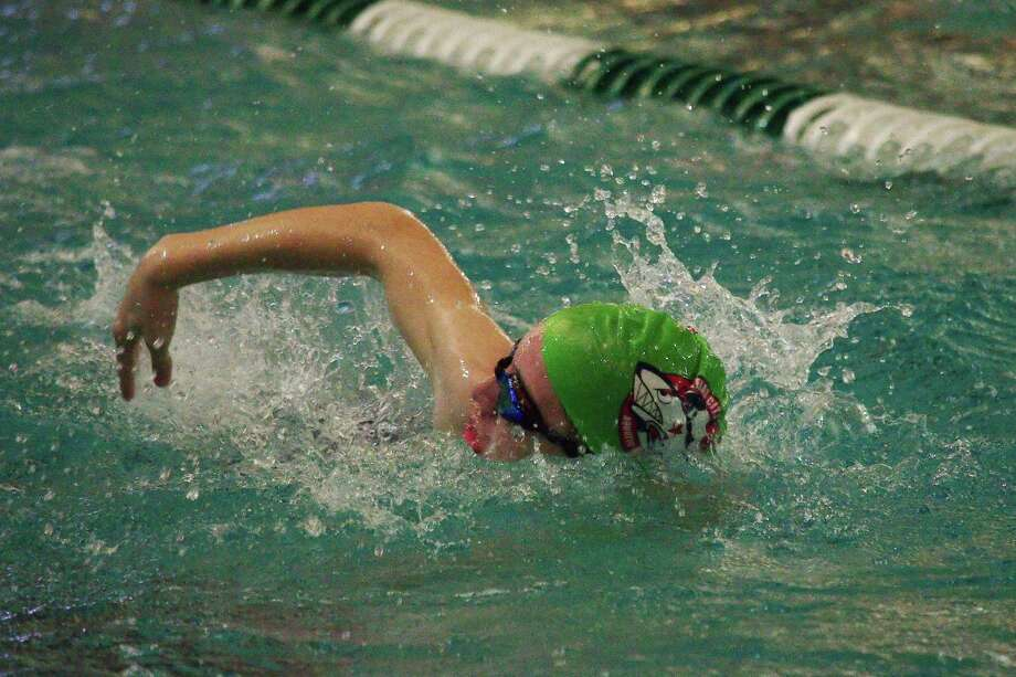 The Texas Amateur Athletic Federation Winter Games this month in Pearland included swimming, which drew more than 600 athletes from throughout the state. Photo: Kirk Sides / Staff Photographer / © 2020 Kirk Sides / Houston Chronicle