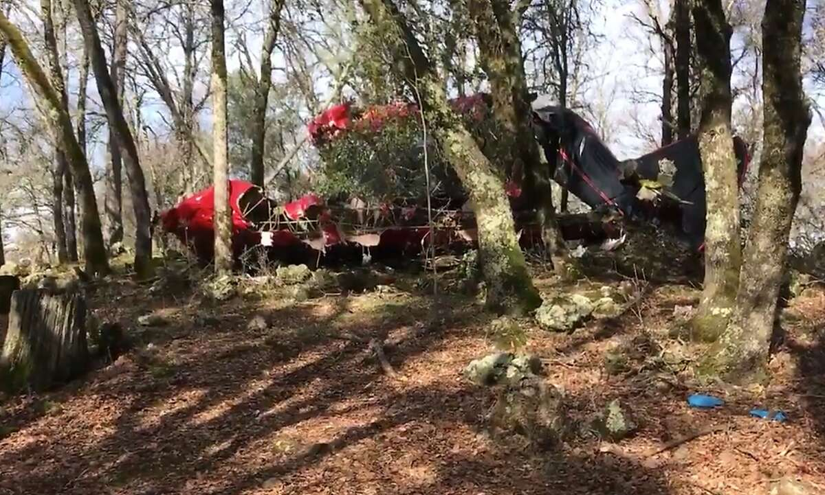 Two people were killed and one person was injured Friday when a small non-commercial plane crashed near near a golf course in the famed gold country town of Auburn, officials said.