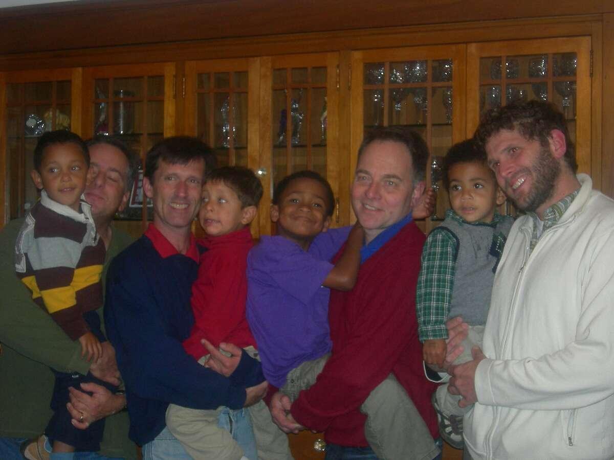The Chosen Cousins: Adam, Aidan, Zane and Elijah.