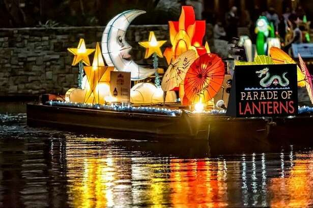 Parade of Lanterns: Lanterns have illuminated bodies of water in celebration of the Chinese New Year for more than 2,000 years. Following tradition, the Ford Parade of Lanterns will feature custom designed lanterns on 10 floats gliding down the San Antonio River in celebration of the 2020 Chinese Year of the Rat. The soft glow of nature and mythology will be featured with a dragon, luminescent trees, flowers, butterflies, and other delights illuminating a more than two-mile route along the River Walk that the parade will traverse three times. Starting on river level in front of the Westin Riverwalk Hotel, the Ford Parade of Lanterns will run nightly from 6-9 p.m. Saturday through Feb. 8. Free. Find a map and weather update (parade may be canceled on bad-weather days) at thesanantonioriverwalk.com - Ingrid Wilgen